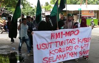 HMI-MPO Mataram Minta Kasus E-KTP Diusut Tuntas