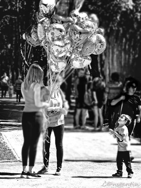 Parcul Expoziţiei - Iaşi - Bucuria baloanelor - blog FOTO-IDEEA