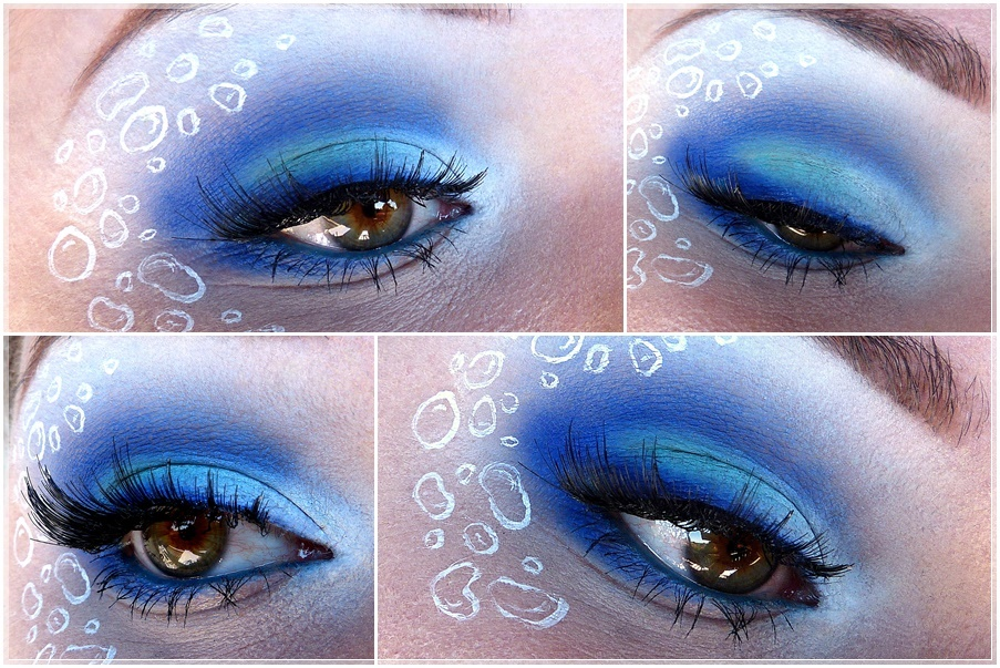 Sailor Mercury eye make up