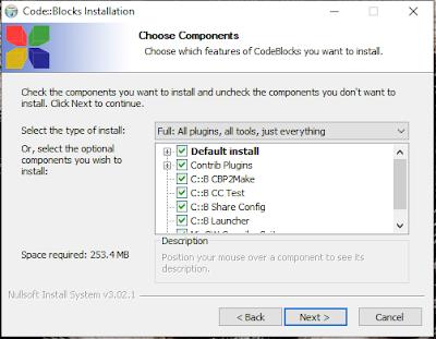 Cara Install CodeBlocks di Windows 10