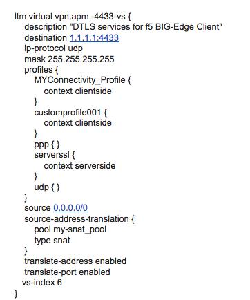 Ken Felix Security Blog: F5 DTLS edgeclient sslvpn