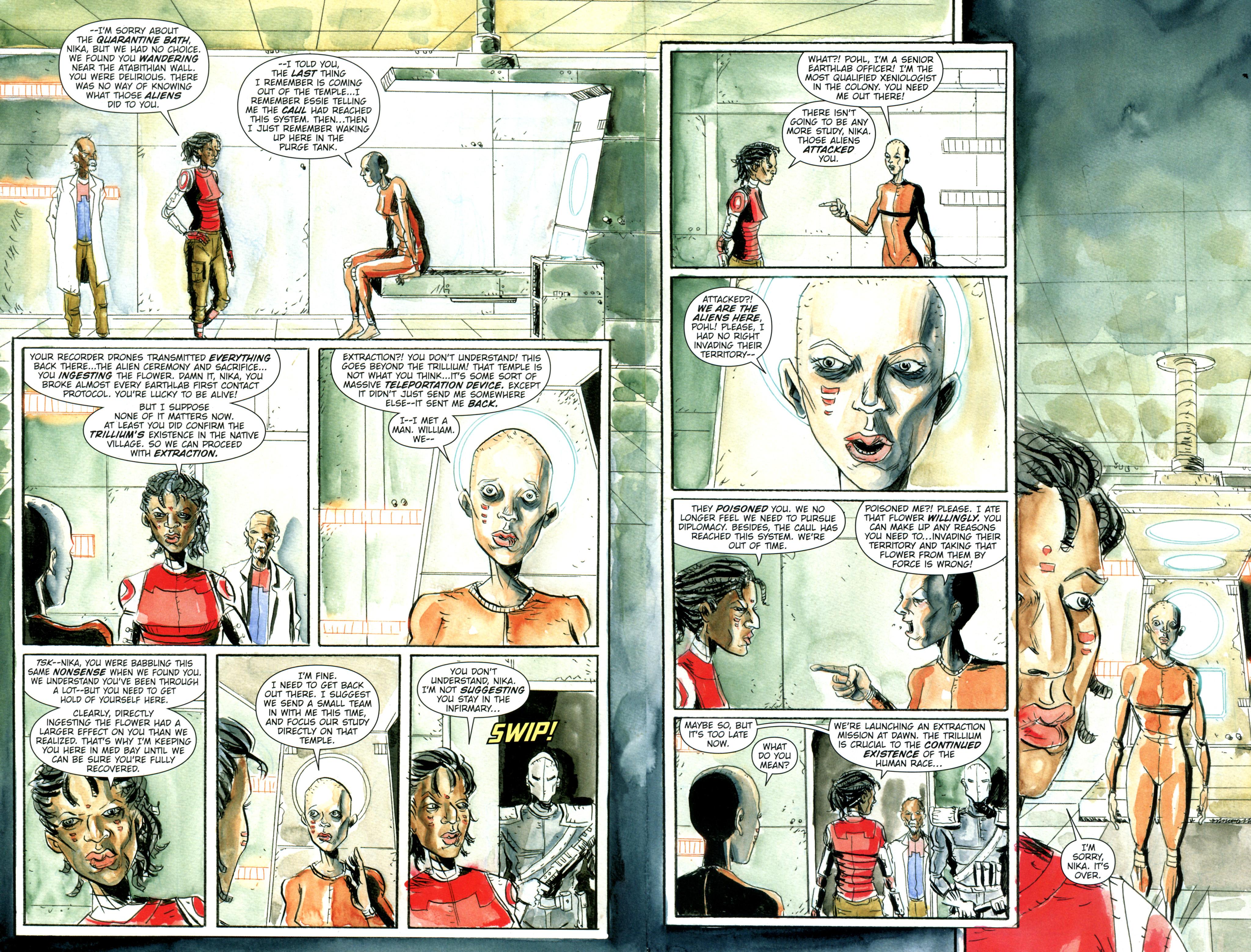 Read online Trillium comic -  Issue #3 - 5