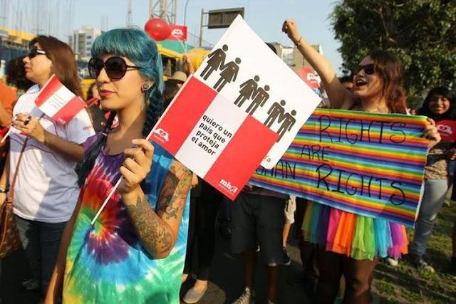 Resultado de imagem para congresso peruano união homossexual