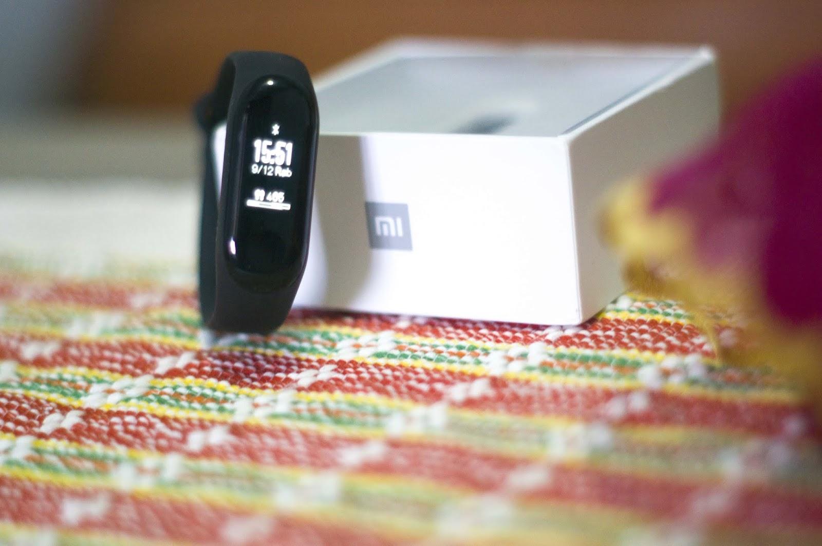 Penampakan Xiaomi Mi Band 3