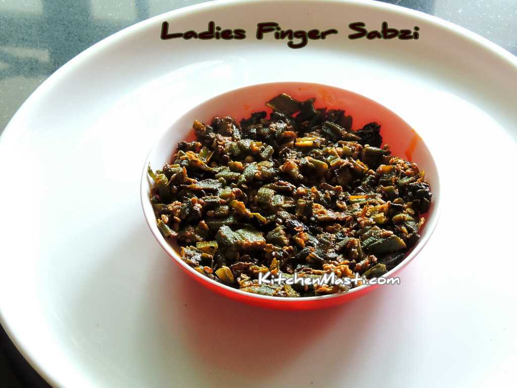 Ladies Finger Sabzi