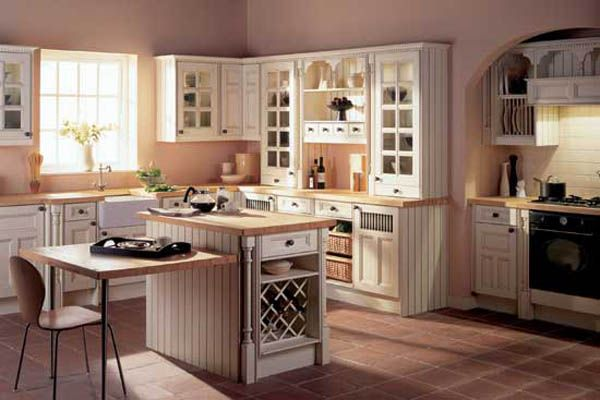 Traditional kitchen cabinets designs ideas 2011 photo - Small country kitchen ideas ...