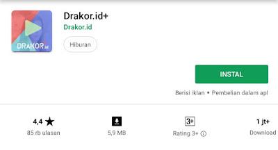 Rekomendasi 3 Aplikasi Mobile Drama Korea di Android Sub Indonesia
