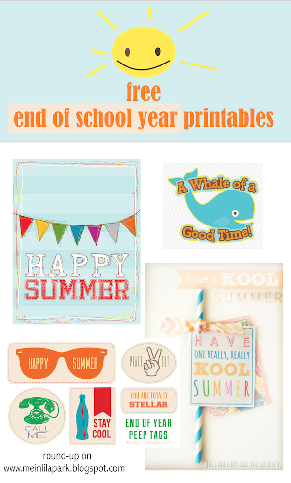 image regarding Have a Kool Summer Printable called Free of charge printable joyful summertime present tags - conclude of faculty calendar year