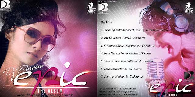 EPIC VOL.1 [THE ALBUM] BY DJ PAROMA