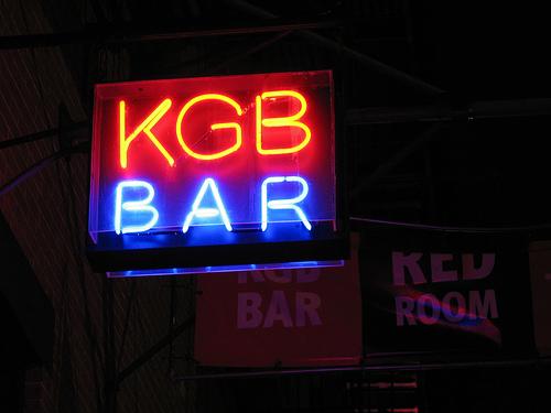 kgb bar ny: