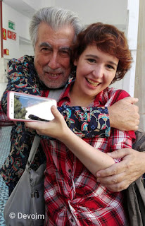 Jordi Sierra i Fabra con Iria G. Parente en la ARC 2017