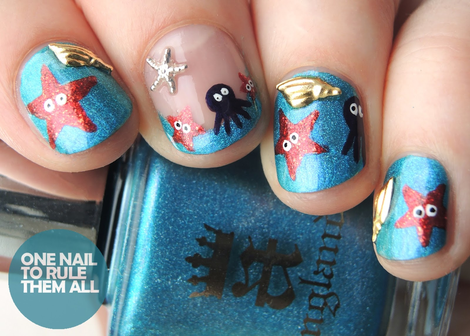 One Nail To Rule Them All: June Splash Meebox Review + Nail Art