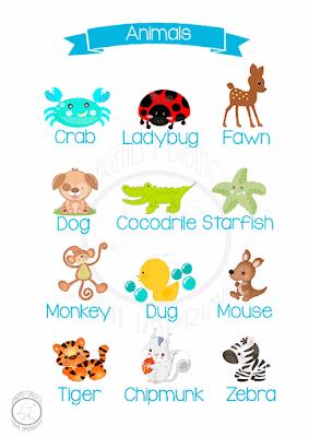 Aprender animales en Inglés