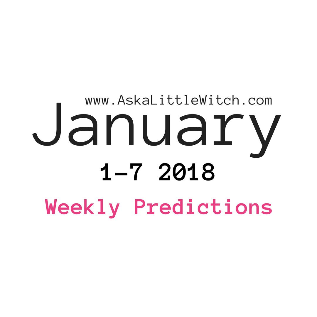 january weekly horoscope