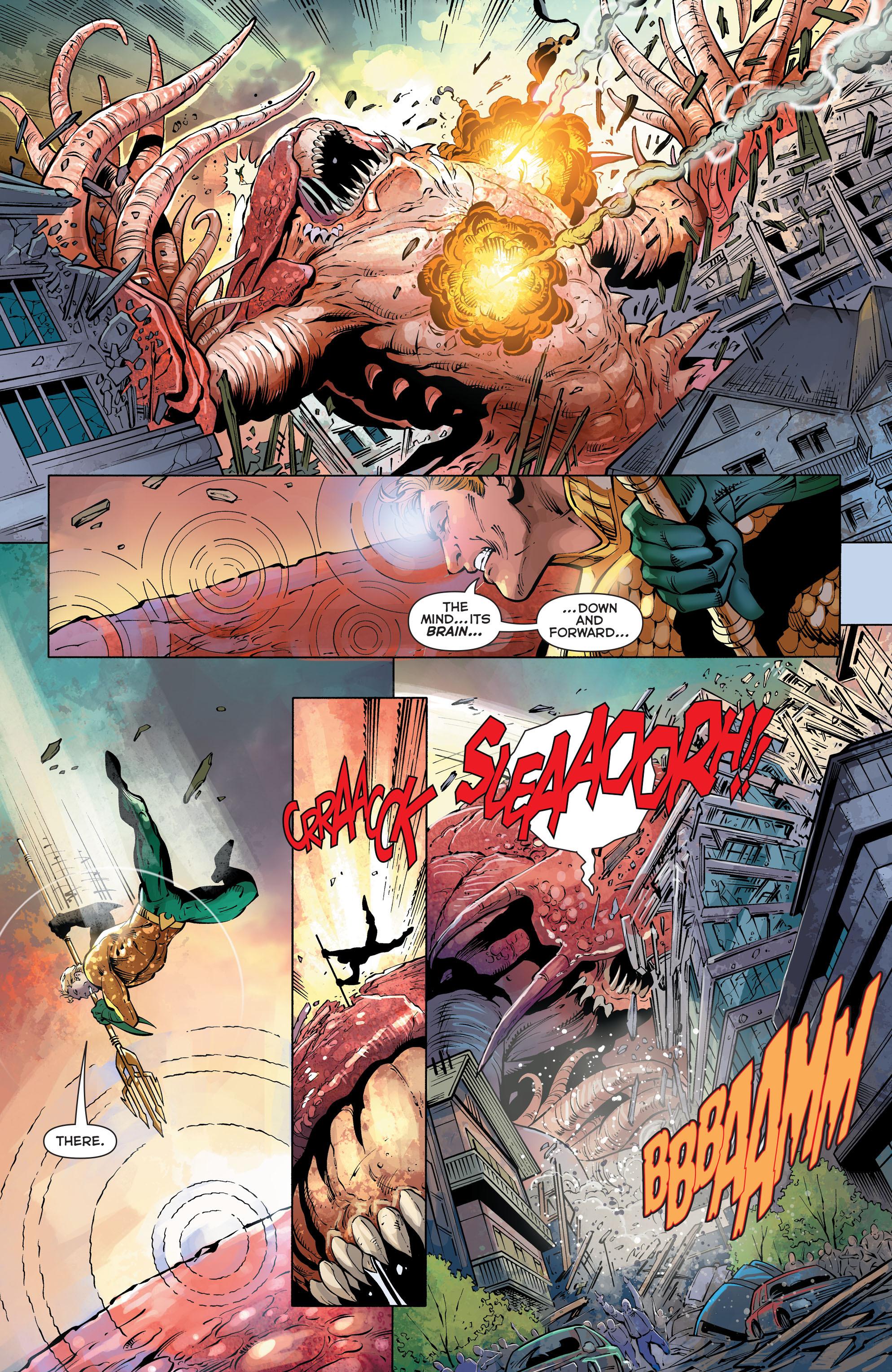 Read online Aquaman (2011) comic -  Issue #27 - 14