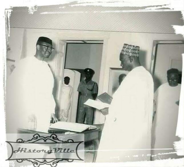 Swearing in of Nigeria's first prime minister
