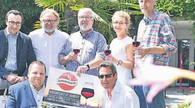 Mazedonische Weine beim Weinfest in St. Hubert (Kempen)