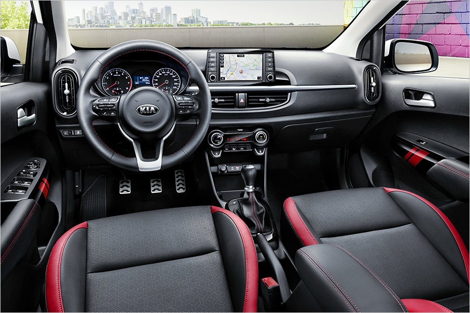 2017 Kia Picanto GT-Line interior