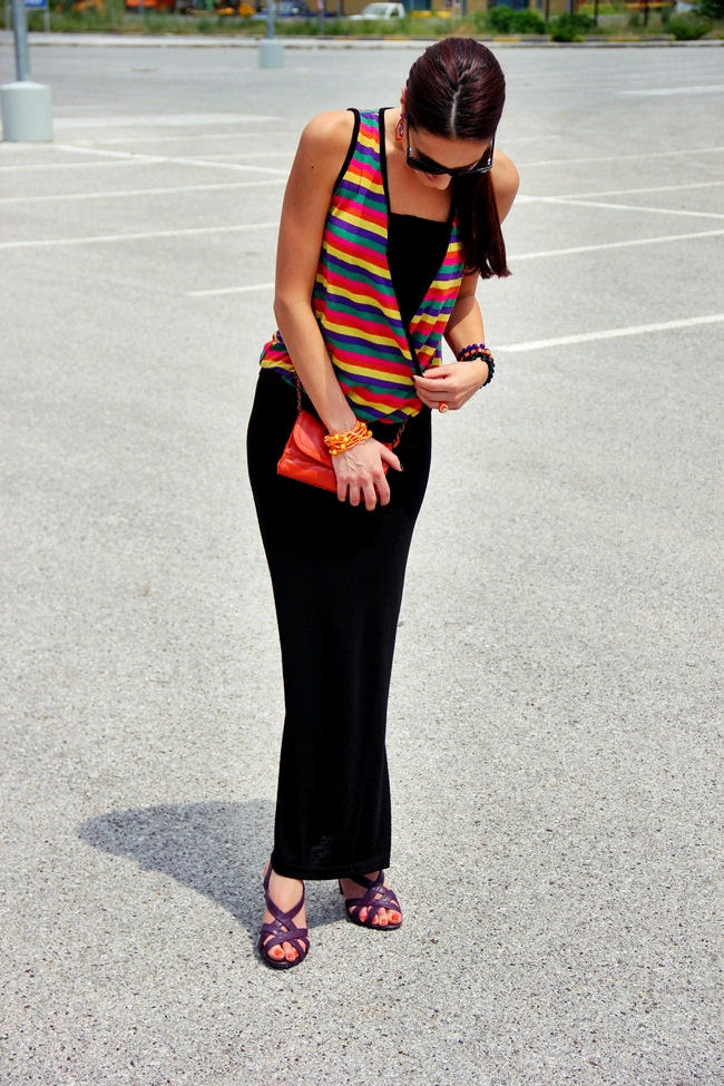 best casual summer looks with stripes