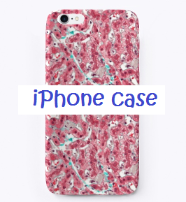 histologia-pink case iphone