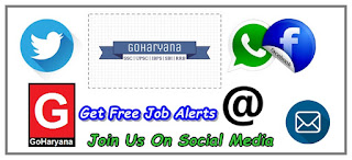 Get free job alerts on your mobile from goharyana and also free study matrial
