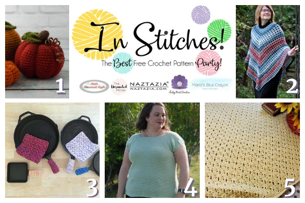 Best Free Crochet Patterns In Stitches Link Up Party Week 20
