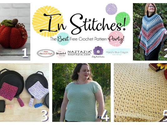 Best Free Crochet Patterns - In Stitches Link Up Party Week #20