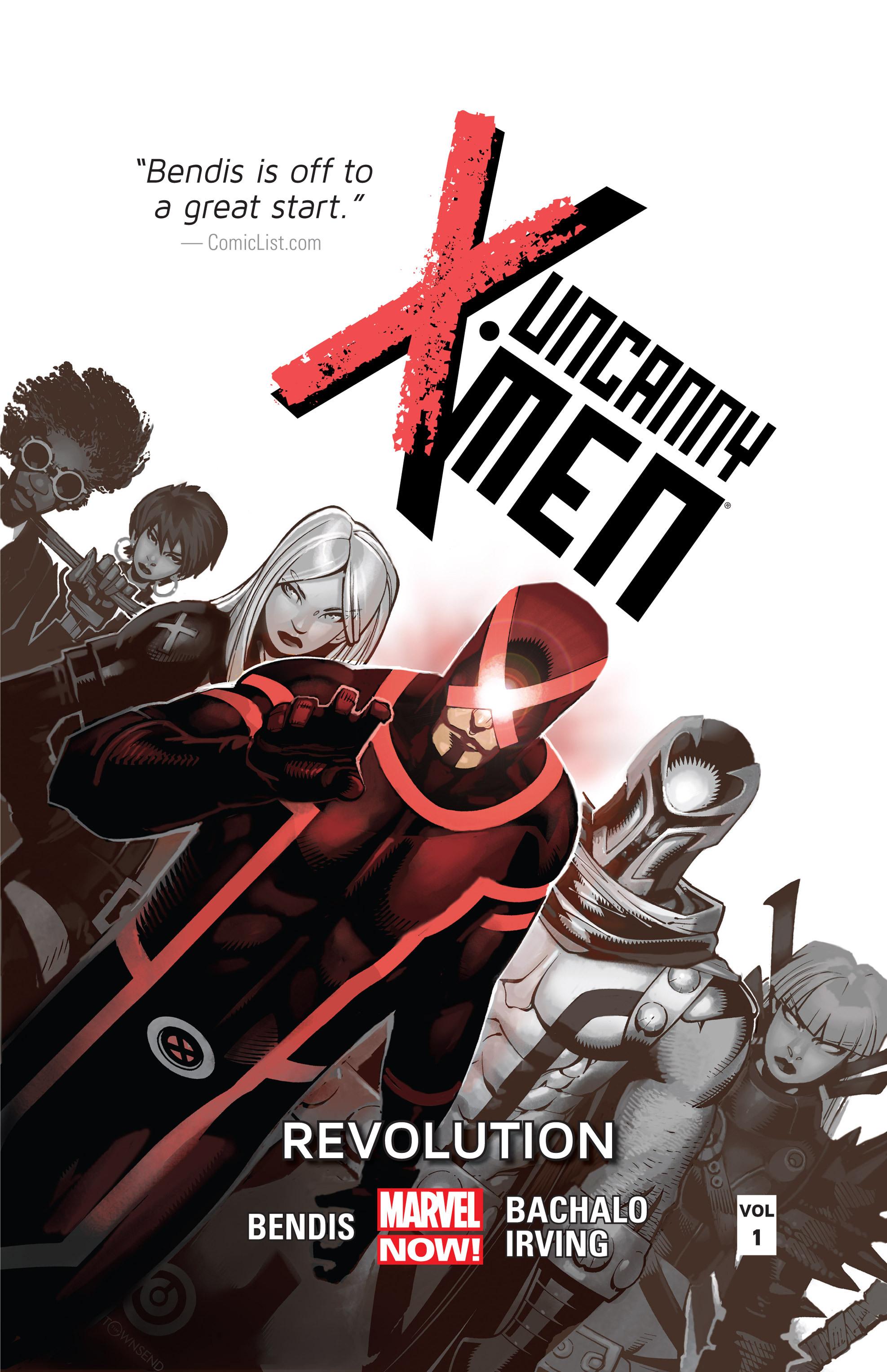 Read online Uncanny X-Men (2013) comic -  Issue # _TPB 1 - Revolution - 1