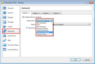 Jenis Jenis Mode Jaringan di VirtualBox