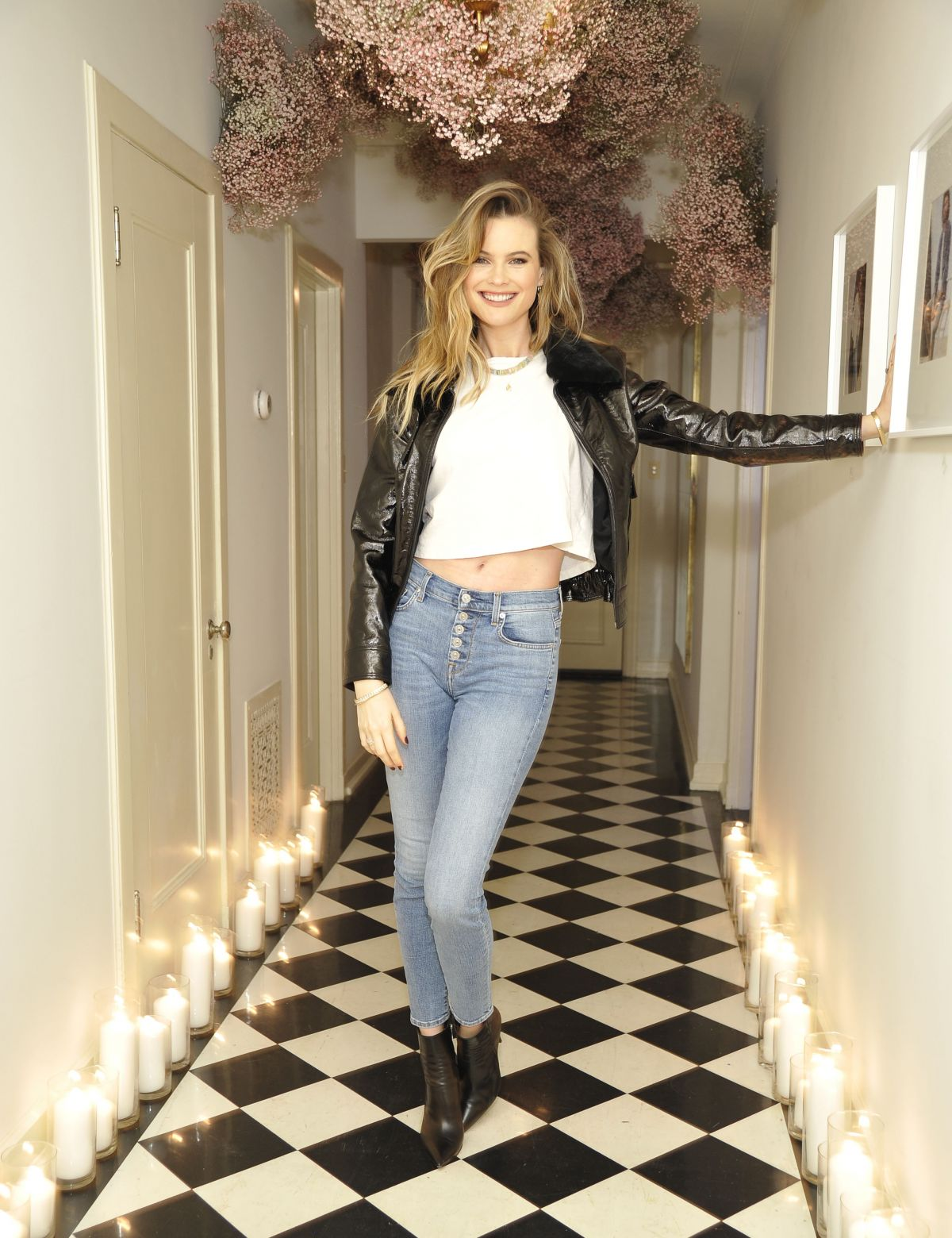 Behati Prinsloo At 7 For All Mankind SS19 Campaign Launch Party - 03/07/2019