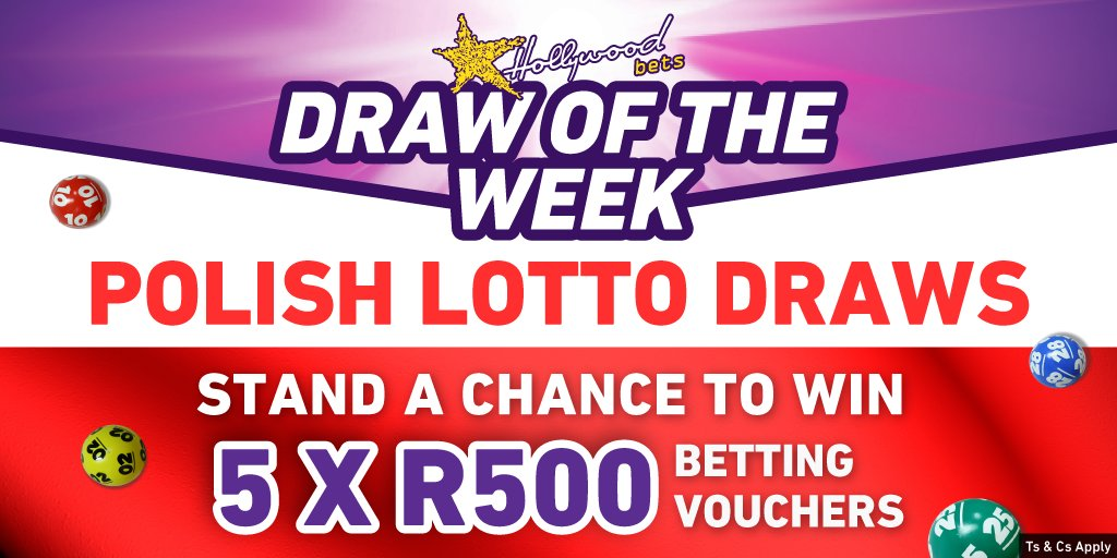Polish Lotto Promotion - Draw of the Week - Hollywoodbets - Lucky Numbers - Competition