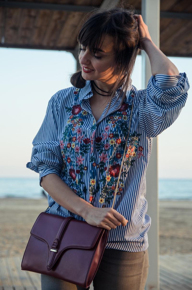Camisa Bordada Zara