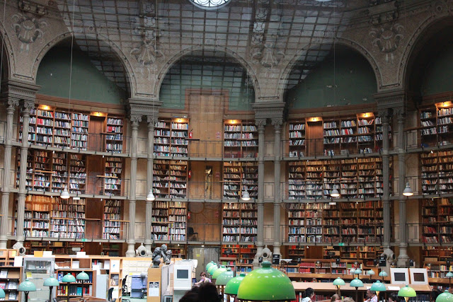 全世紀最美的圖書館之一:法國國家圖書館
