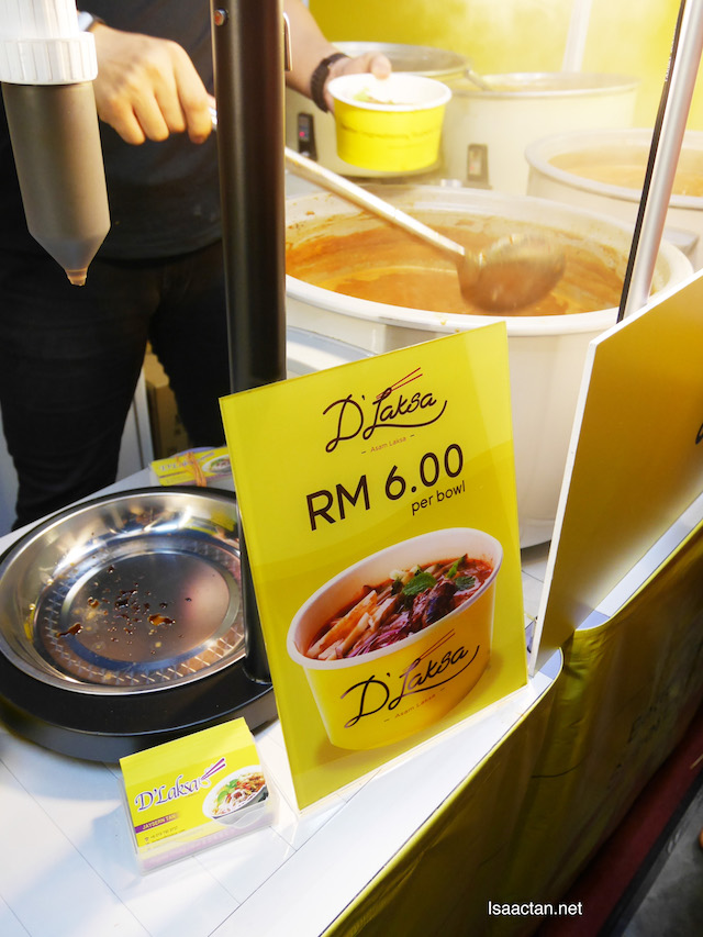 Only RM6 per bowl at the expo