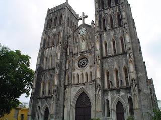 St Joseph Cathedral. Hanoi