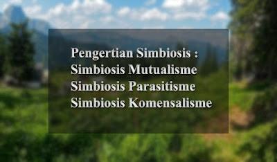 Pengertian Simbiosis | Mutualisme, Parasitisme, dan Komensalisme
