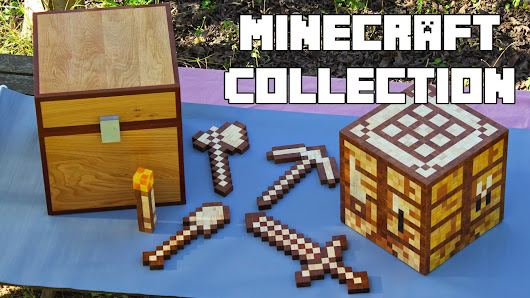Minecraft Collection - woodmade