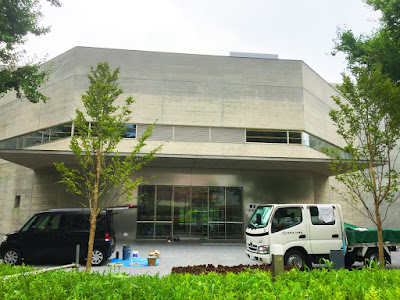 Work on the new Japan Sword Museum in the Yokoami district of Sumida ward, Tokyo.