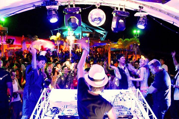 Cebu beaches, Cebu Beach Party, Beach Party, Ibiza Club beach party, Movenpick Hotel Mactan Island Cebu, Cebu Events, Perfumed Red Shoes, Daiki Wakabayashi