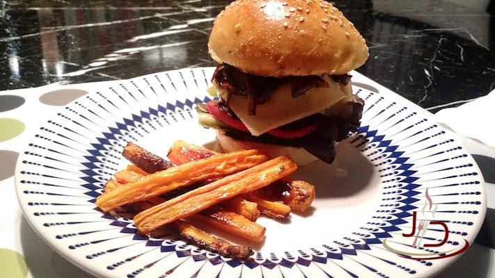 foto do hambúrguer de contrafilé