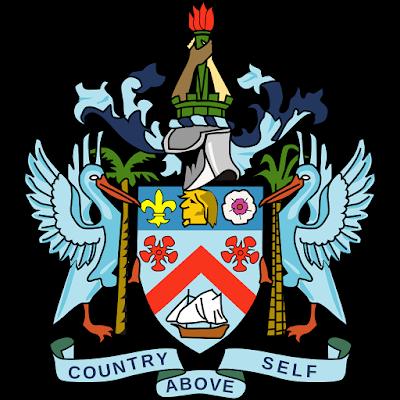 Coat of arms - Flags - Emblem - Logo Gambar Lambang, Simbol, Bendera Negara Saint Kitts dan Nevis