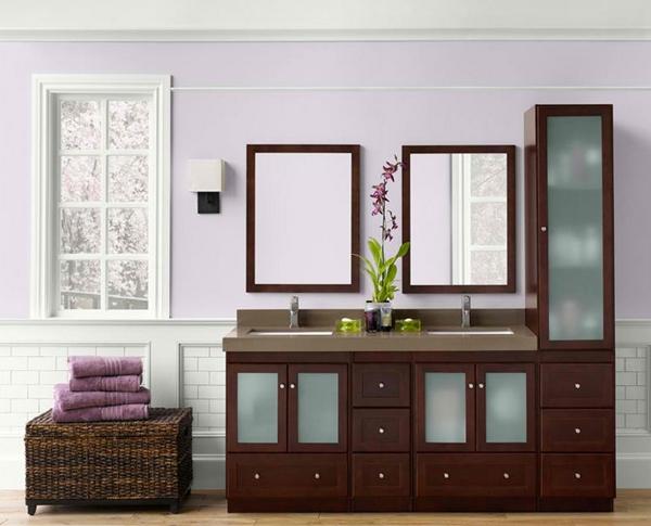 model lemari tinggi kamar mandi rancangan desain rumah
