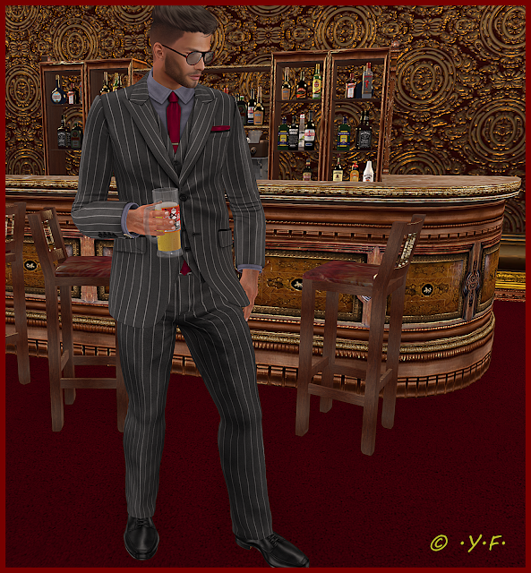 Another Pinstripe Edition Suit/Tux From L&B