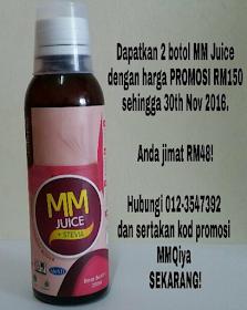 Mama Muda Juice (MMJ) Meningkatkan Tenaga Dalaman Wanita