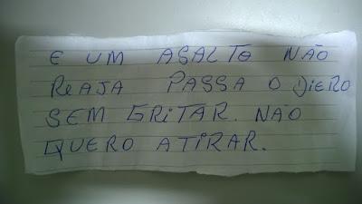 Elemento é preso após roubar lotérica usando bilhete em Guarantã
