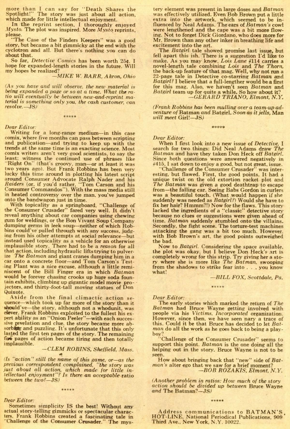 Detective Comics (1937) 419 Page 34