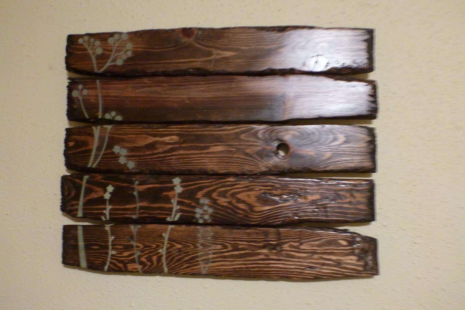 Handmade Mayhem: Reclaimed Wood Wall Art