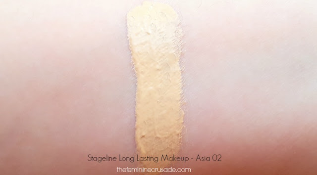 Stageline Long Lasting Makeup Foundation swatch