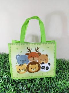 tas ulang tahun animal