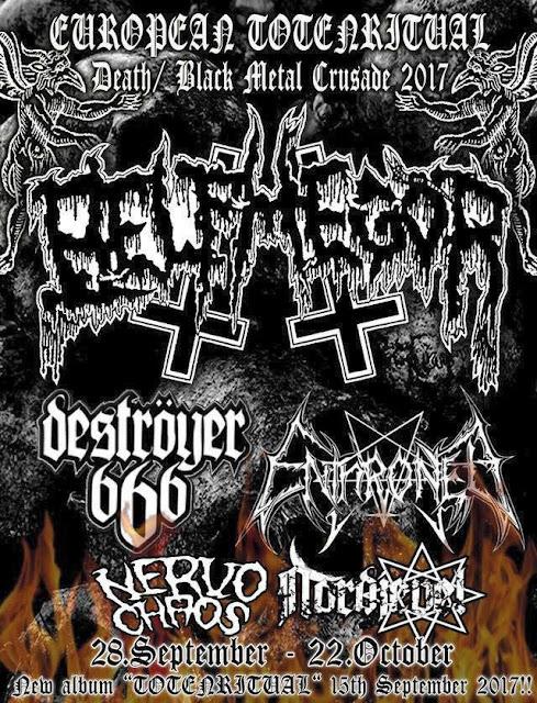 NervoChaos: nova turnê europeia com Belphegor e outros gigantes
